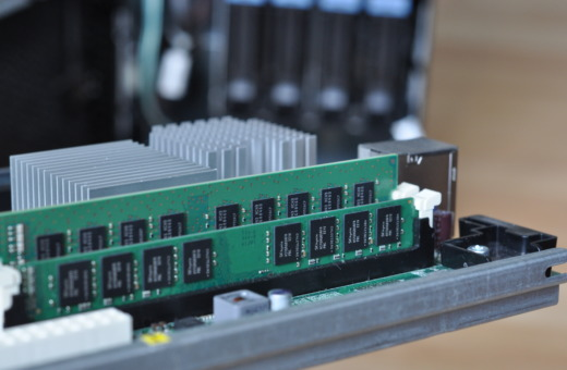 Main memory modules from server