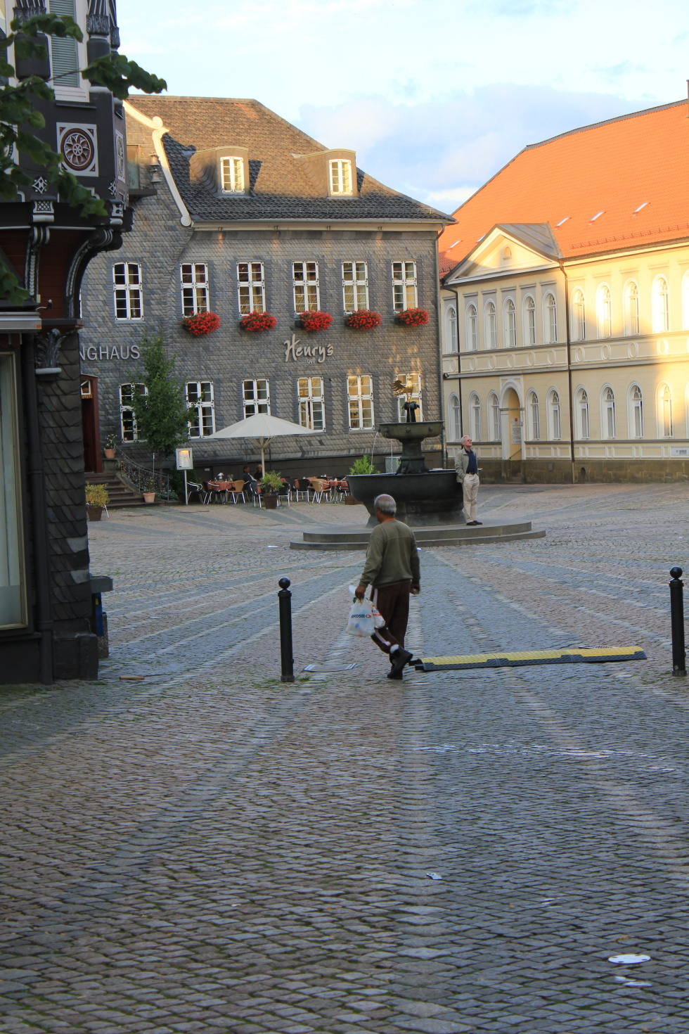 Goslar's historical marketplace