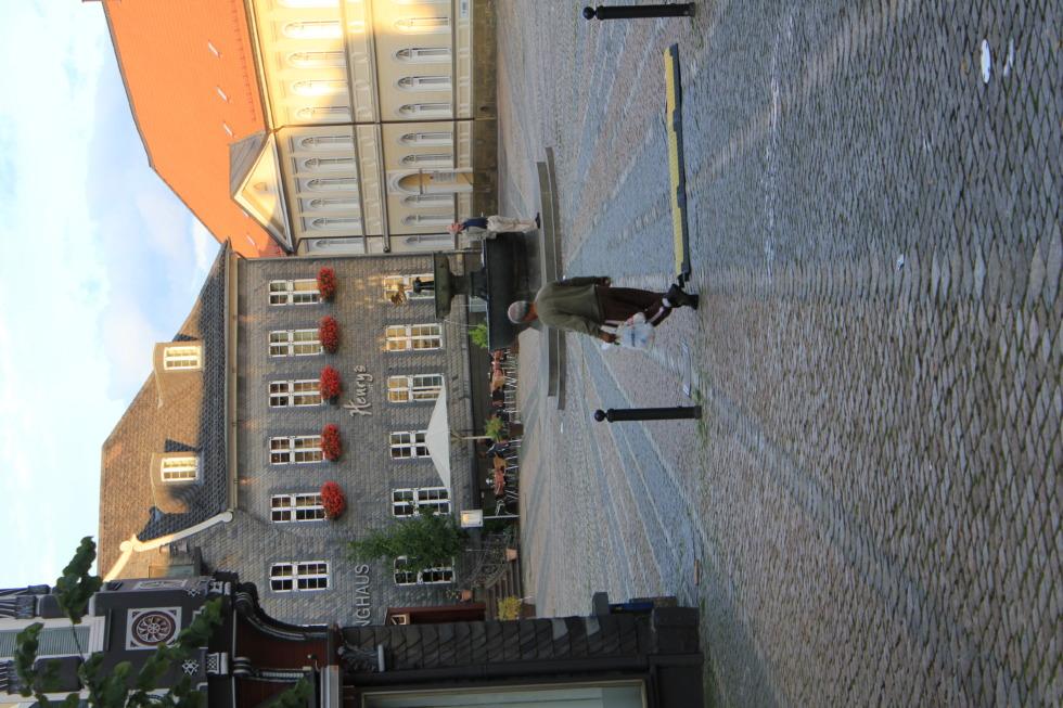 Goslar's historical marketplace