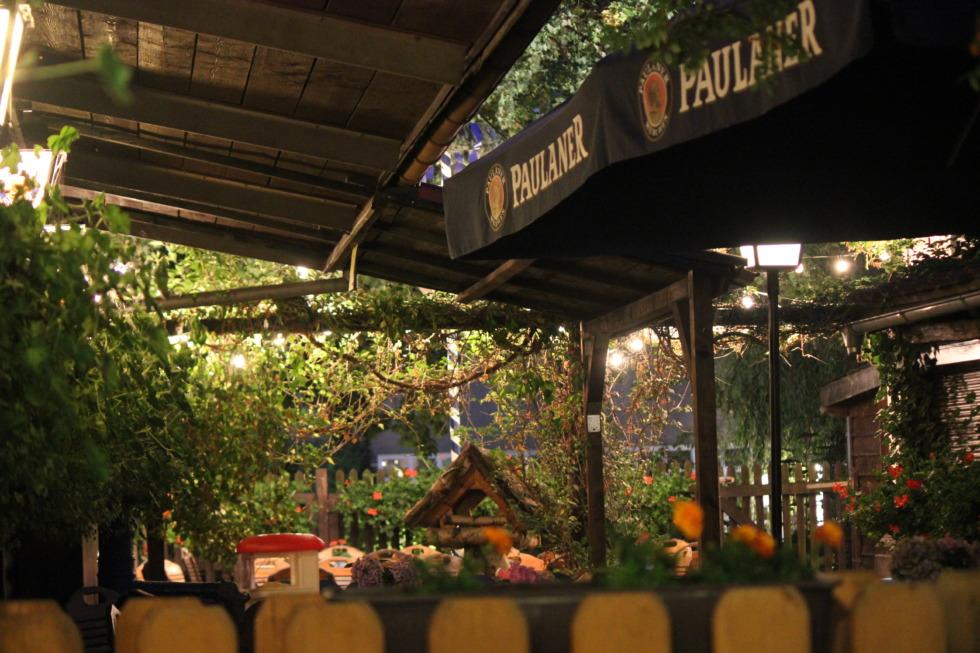 German pub garden