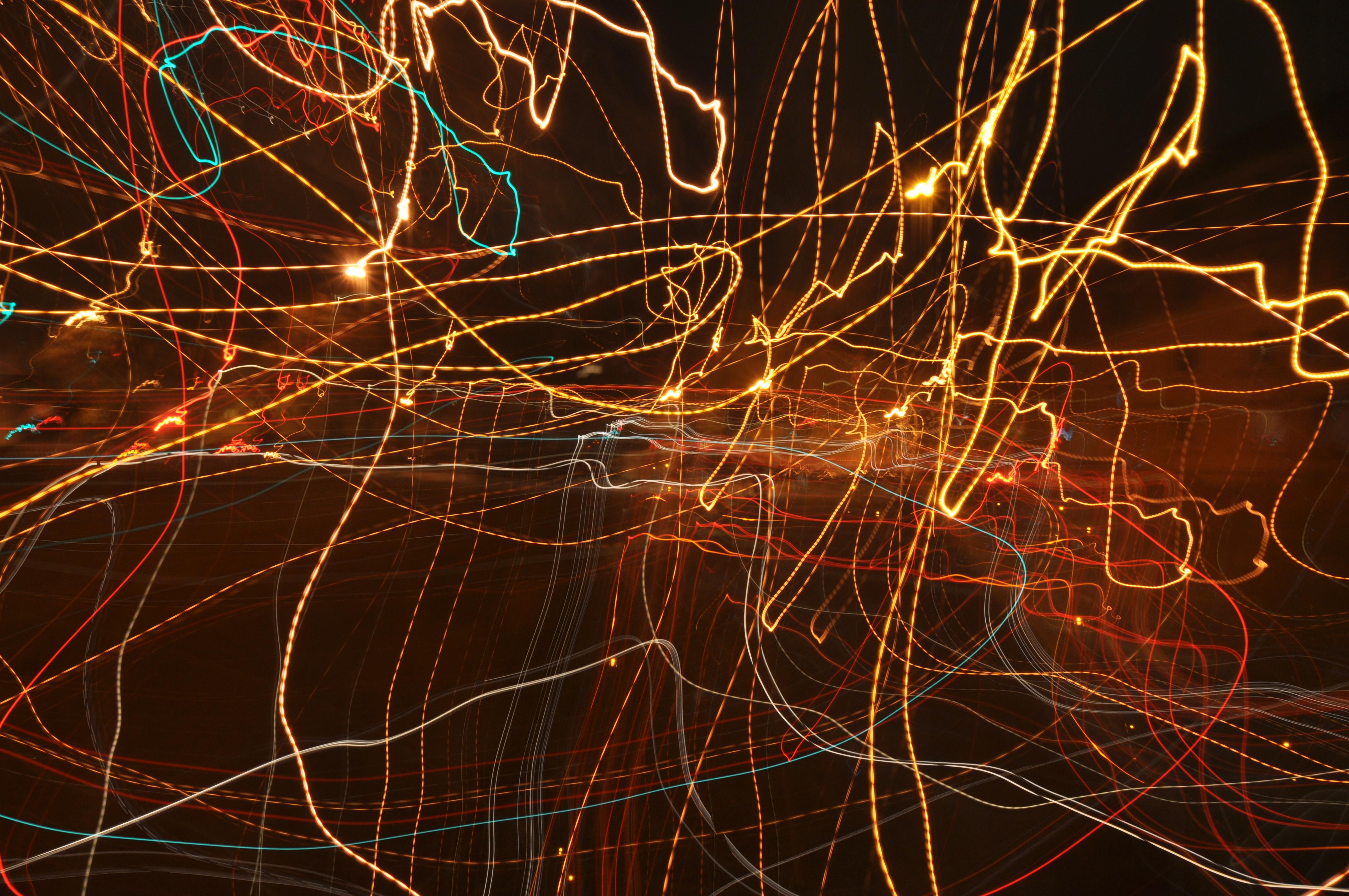 Abstract Traffic Lights Cc0 Photo