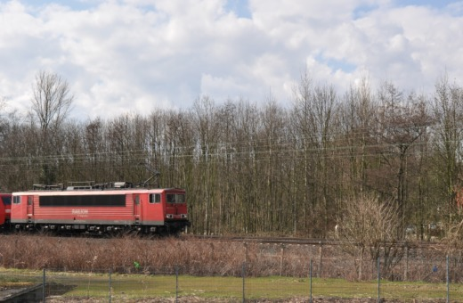 Freighttrain of the Deutsche Bahn