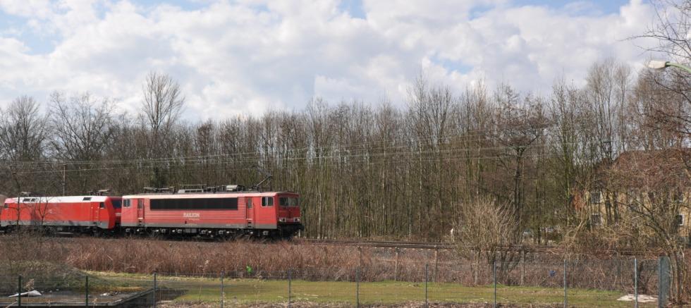 Freighttrain of the Deutsche Bahn