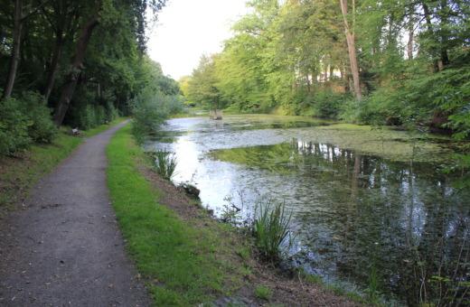Pond at Zwingerwall in Goslar
