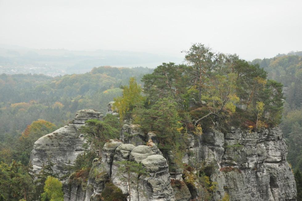 Rock formation at Ceský ráj