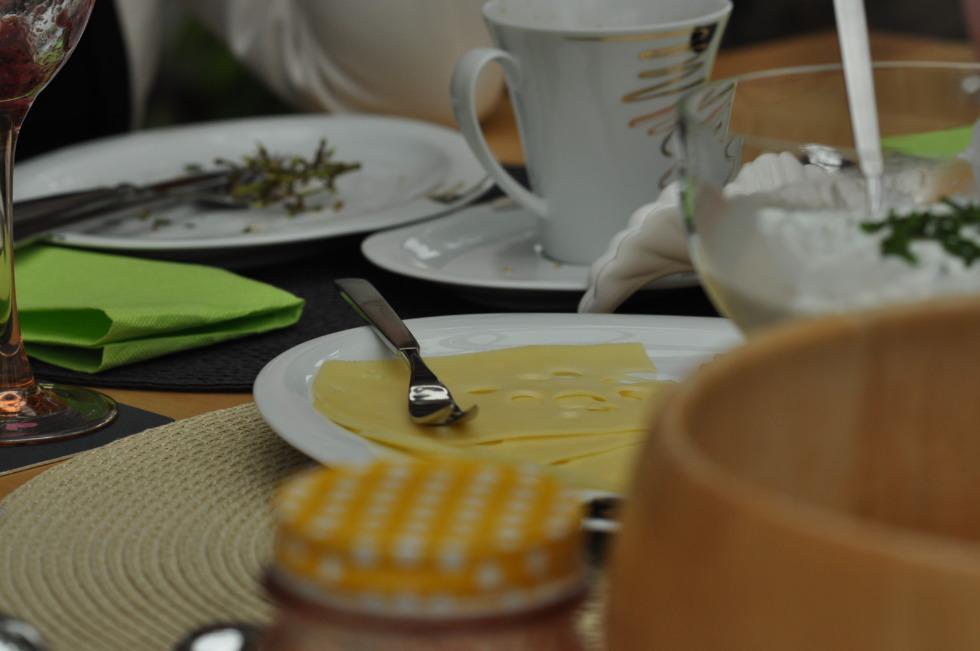 Breakfast details - cheese