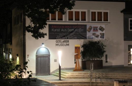 Goslarer Museum at night