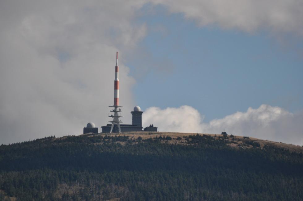 Transmitter station on the Brocken