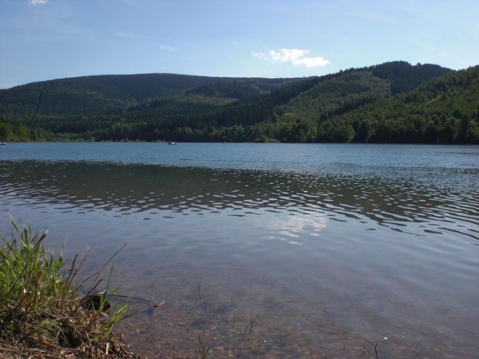 Scene at Granetalsperre reservoir No.2