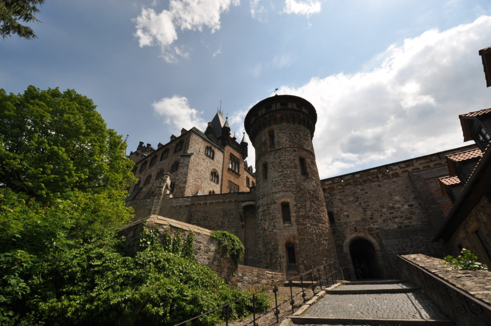 Entry of castle Wernigerode