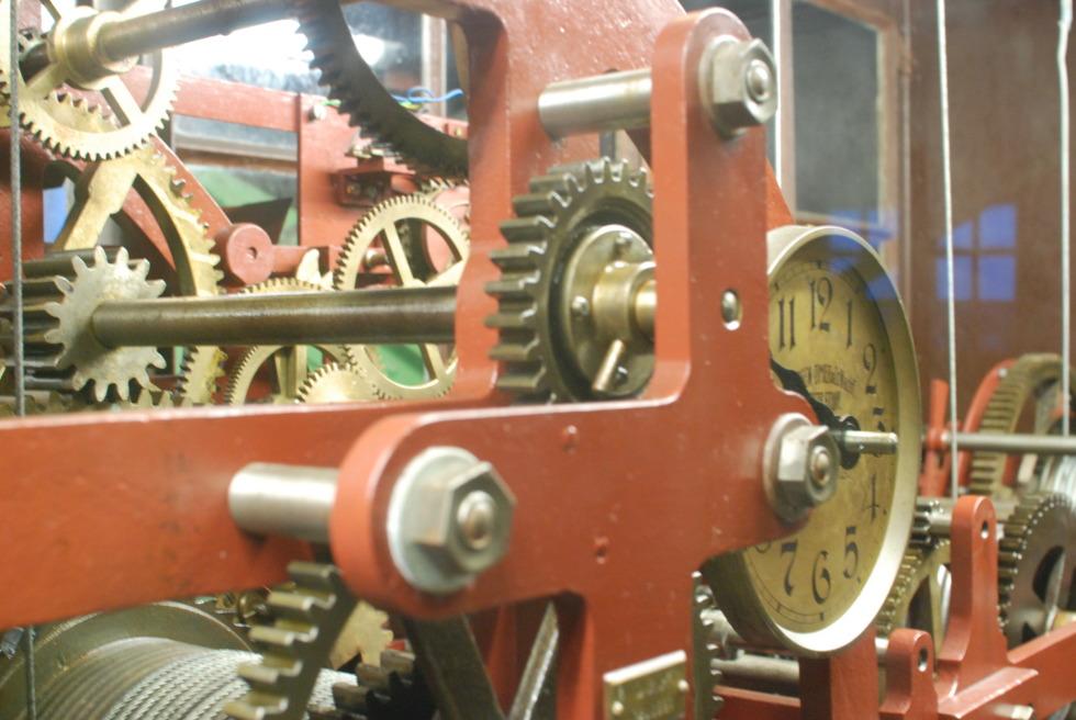 Clockwork at St. Michaelis church, Hamburg