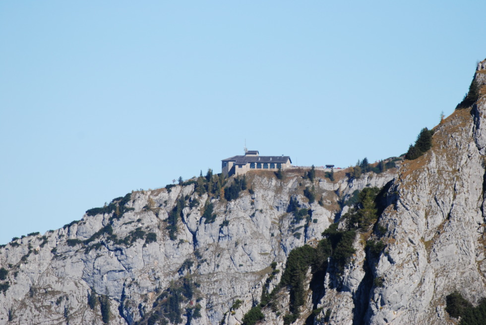 Kehlsteinhaus aka Eagles Nest on Obersalzberg