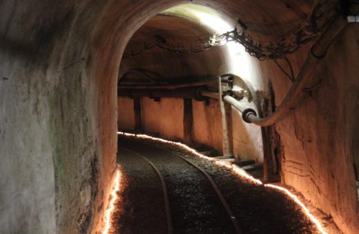 Tunnel inside the Rammelsberg