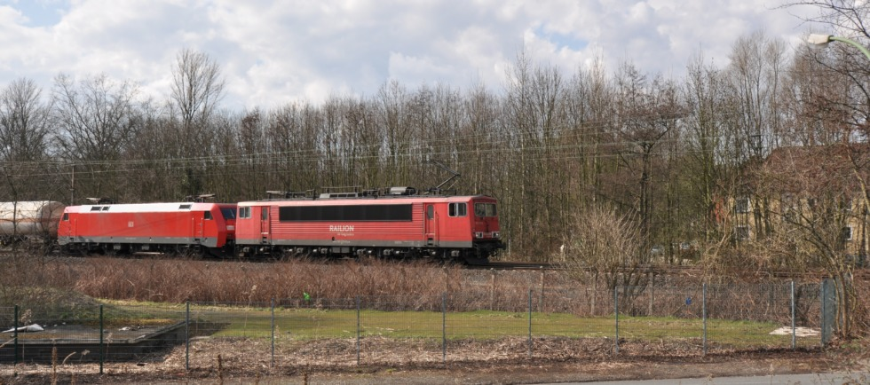 German freight train
