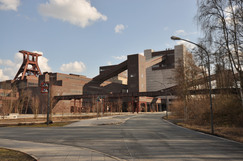 View on the Zeche Zollverein area