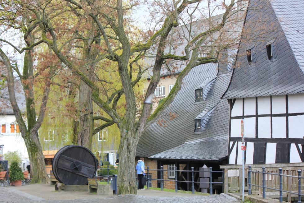 Old watermill - Worthmühle in Goslar