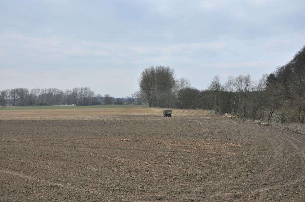 Farm trailer on field No.3