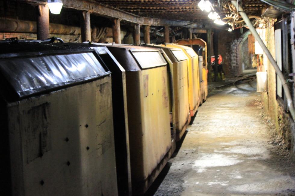 Mine railroad in Rammelsberg pit