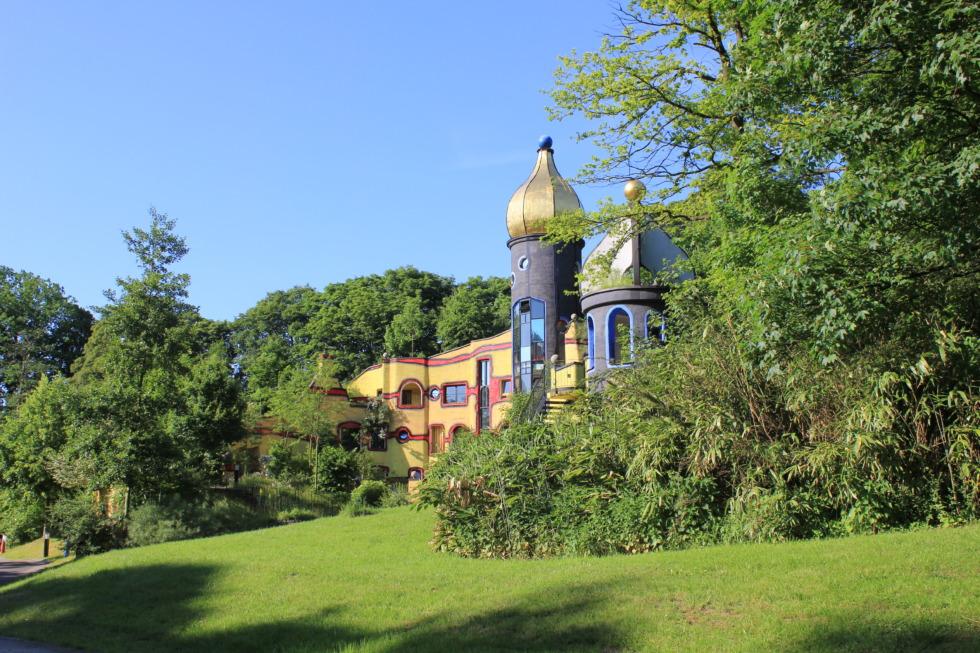 Hundertwasser house in Essen, Germany
