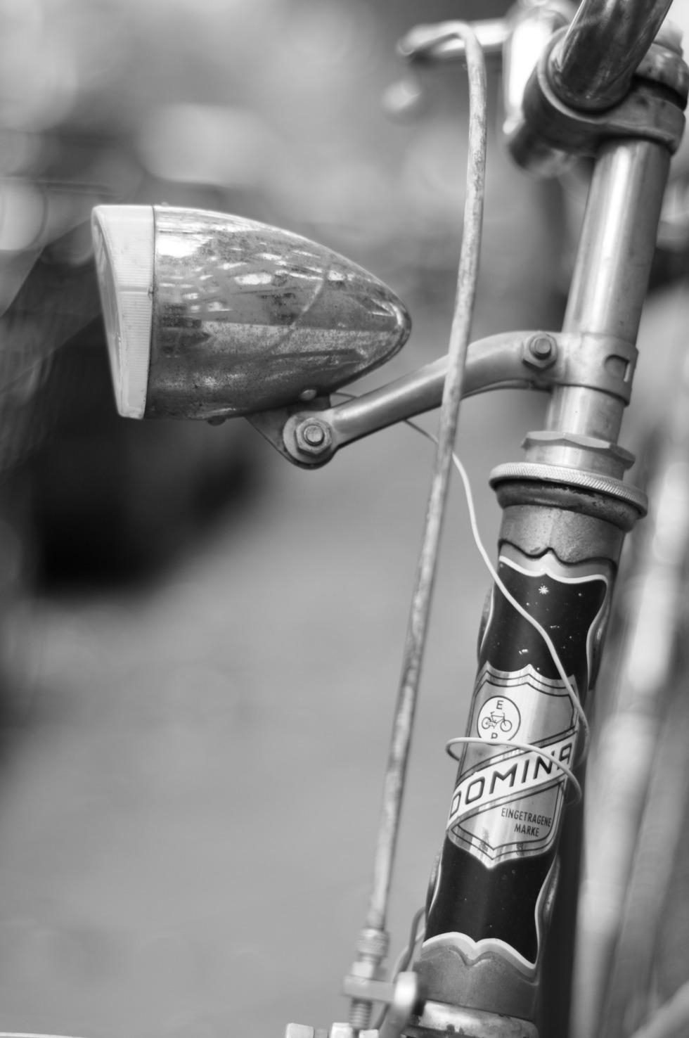 Retro bike lamp