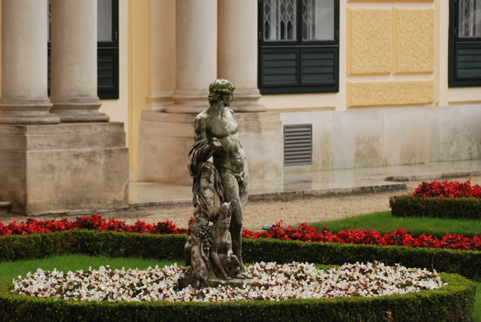 Sculpture in Schönbrunn Palace garden