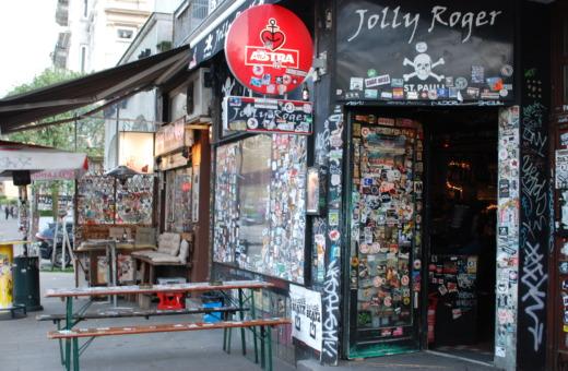 Typical pub in Hamburg