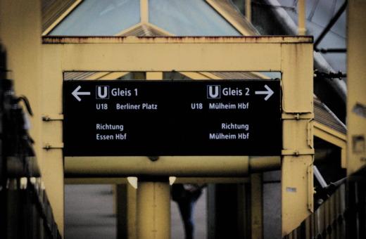 Subway station ETEC-Savigny-Street, Essen