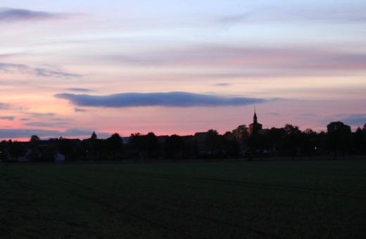 Sundown behind Bredelem