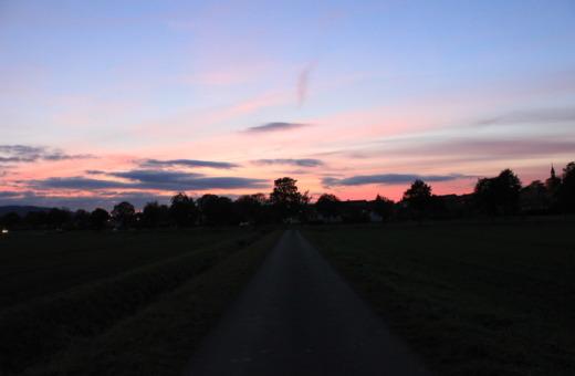 Way down to Bredelem in sundown