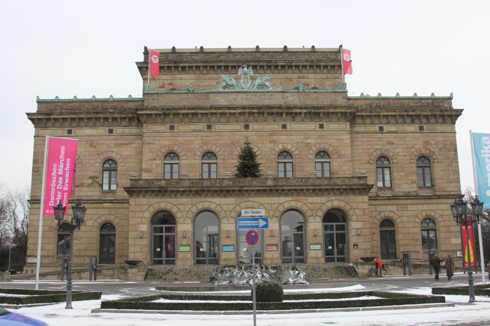 State theatre in Braunschweig
