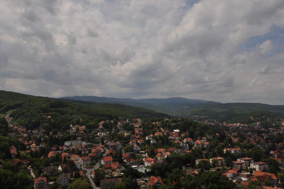 View over Wernigerode