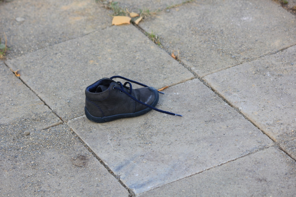 Lost children's shoe