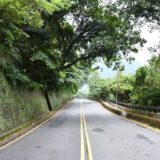Lonely mountain road in Taiwan