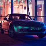 Mazda MX-5 NC in front of car wash