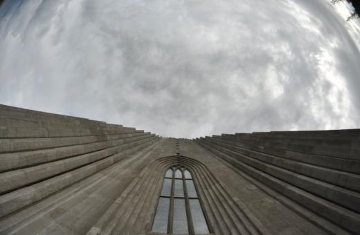 Skyview at Hallgrímskirkja in Reykjavík
